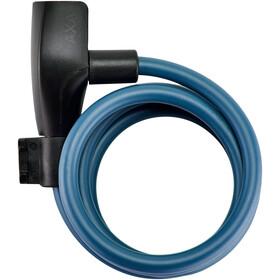 Axa Resolute 8 Candado de Cable Ø8mm 120cm, Azul petróleo